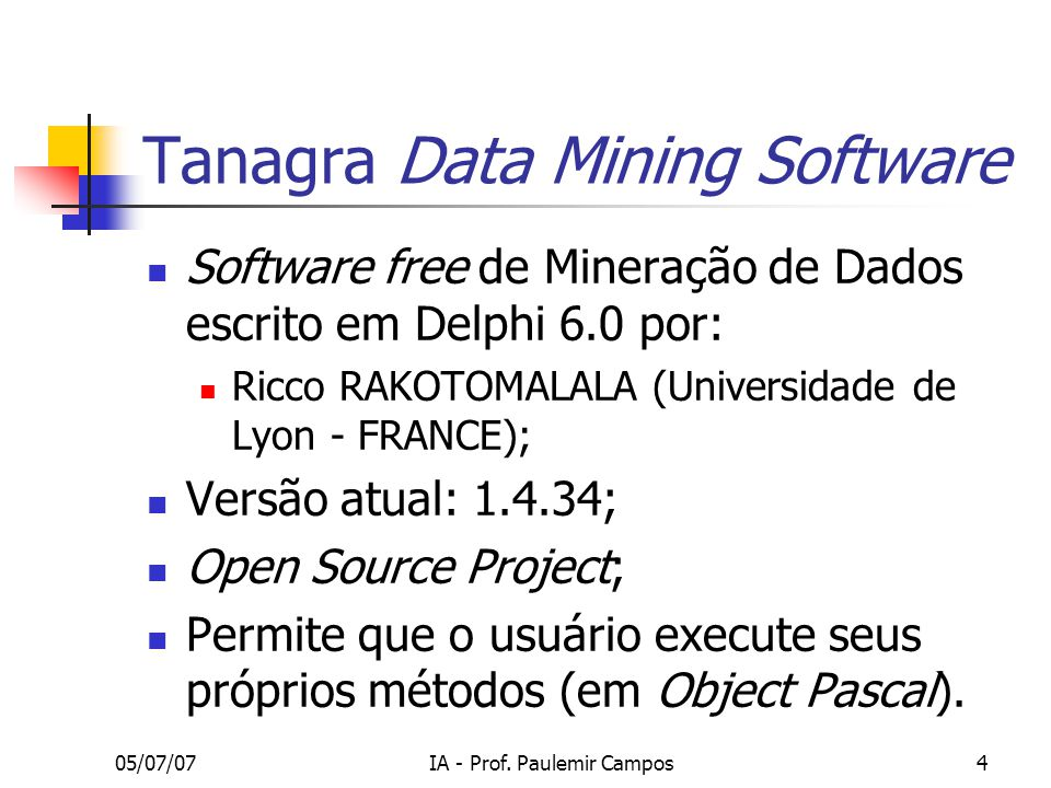 Tanagra Data Mining Software