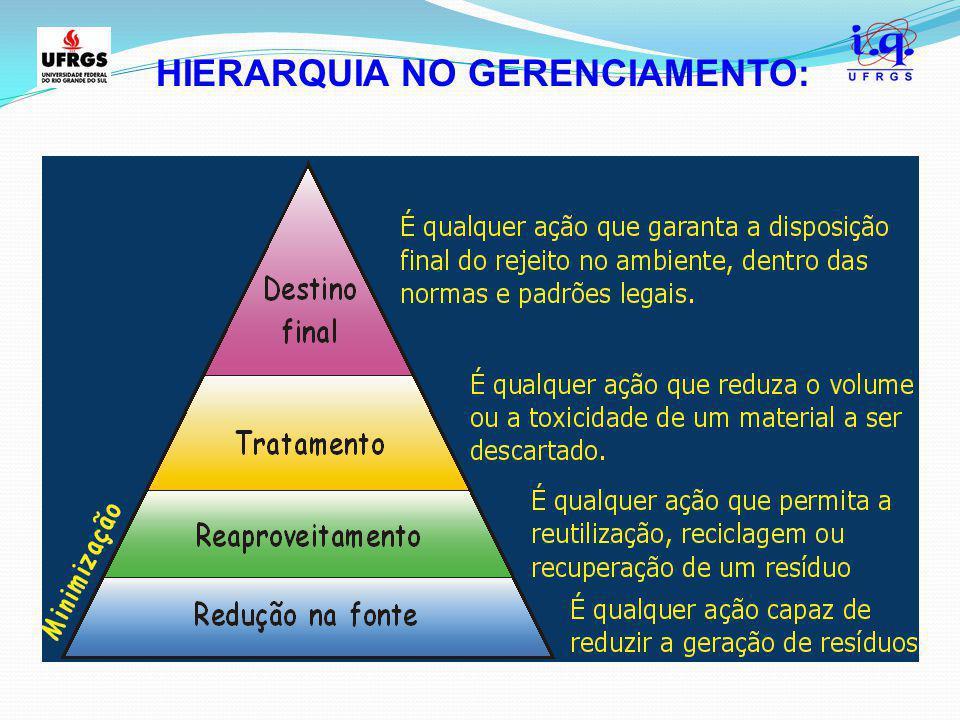 HIERARQUIA NO GERENCIAMENTO: