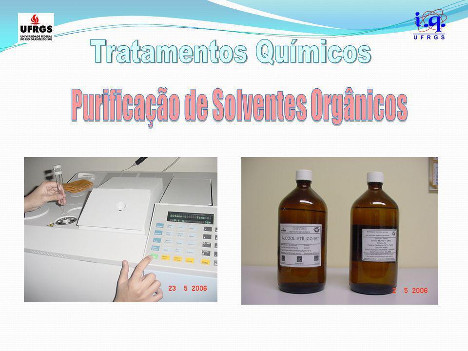 Purificação de Solventes Orgânicos