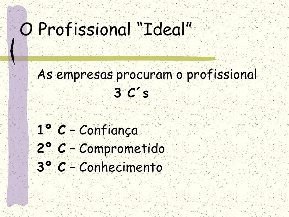O Profissional Ideal