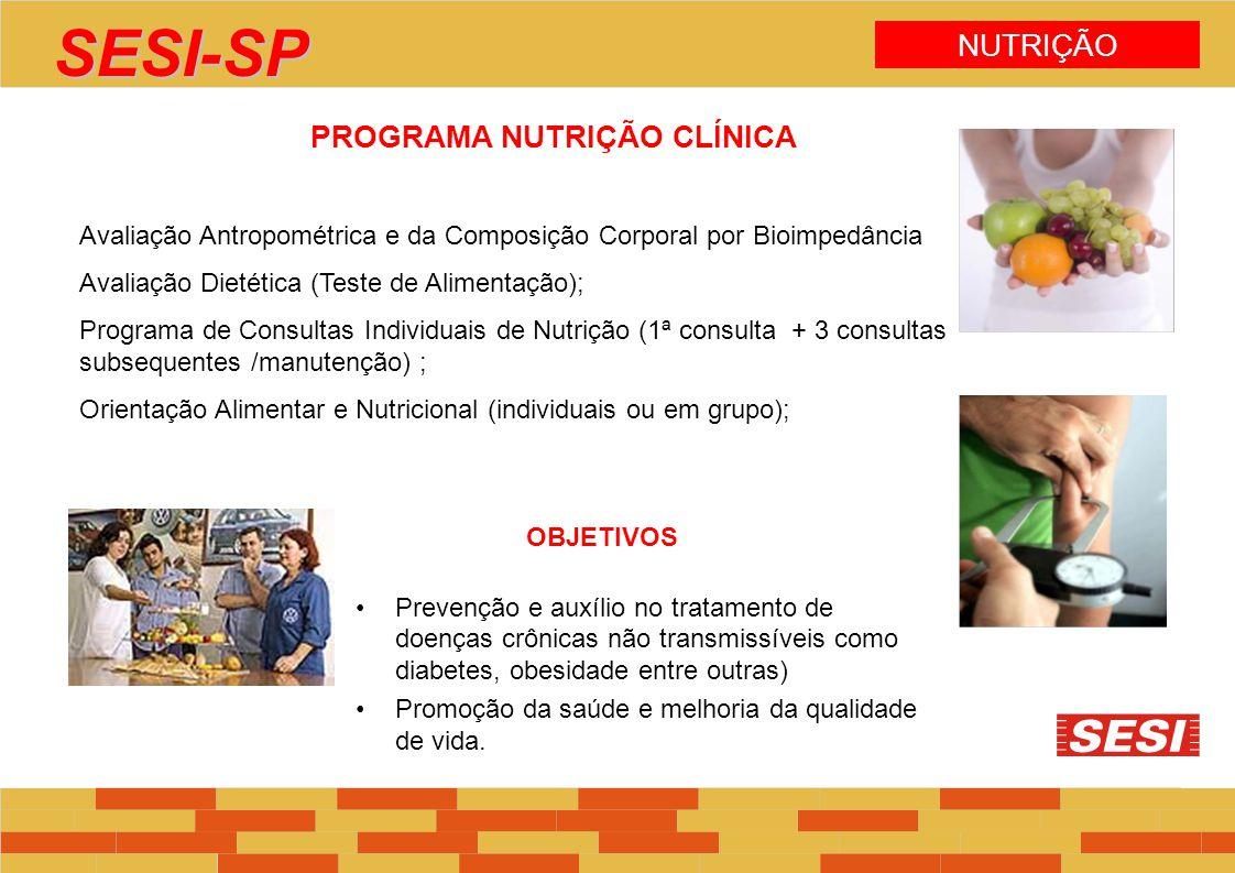 PROGRAMA NUTRIÇÃO CLÍNICA