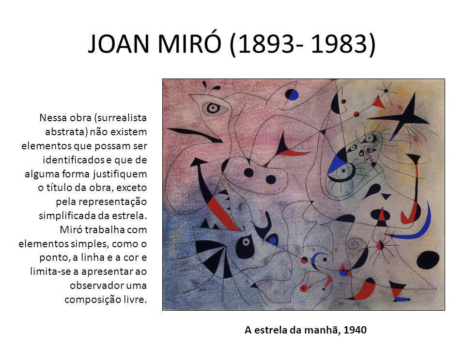JOAN MIRÓ (1893- 1983)