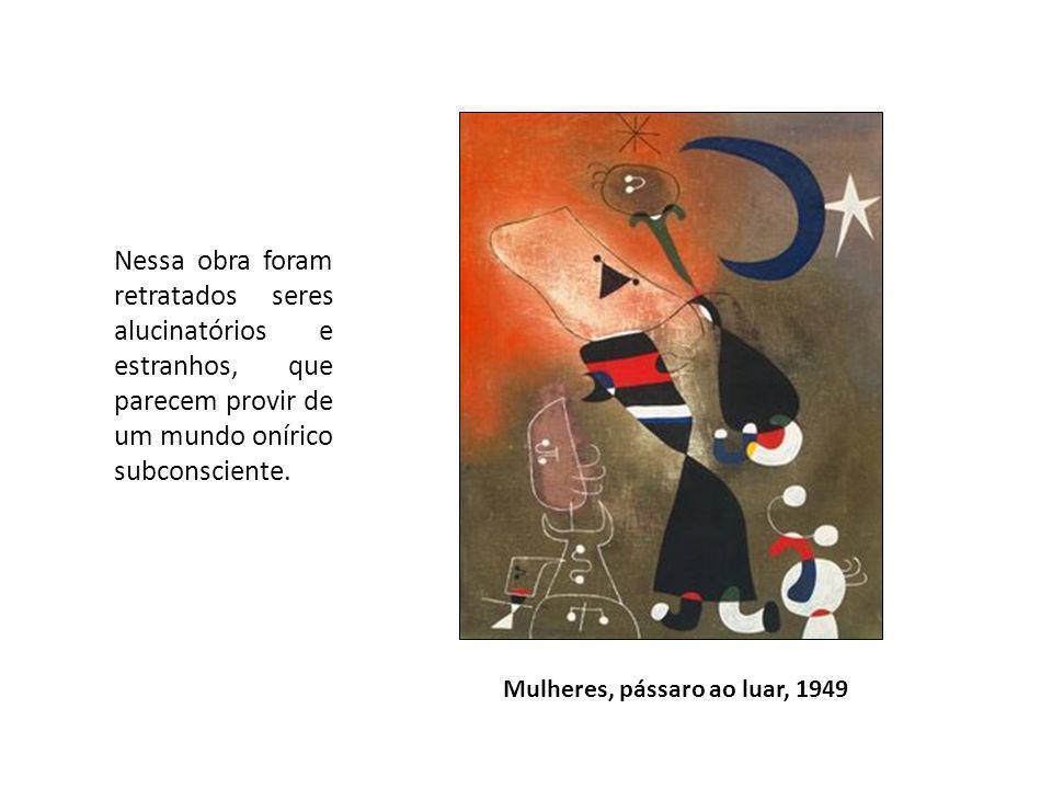Nessa obra foram retratados seres alucinatórios e estranhos, que parecem provir de um mundo onírico subconsciente.
