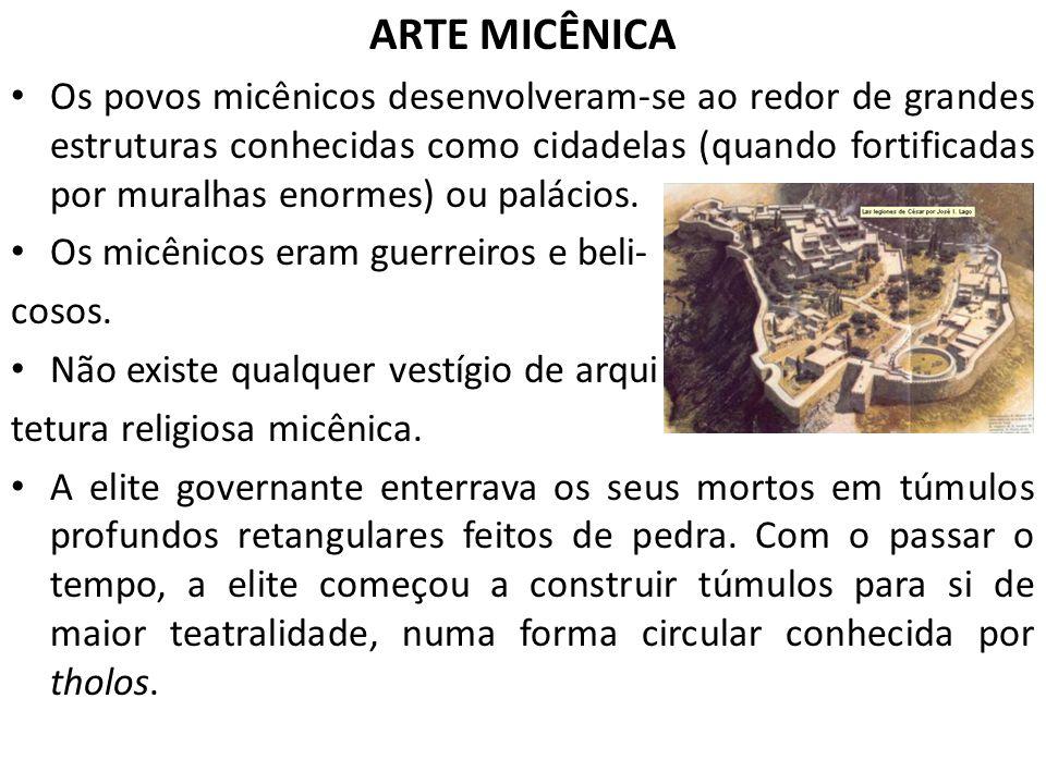 ARTE MICÊNICA