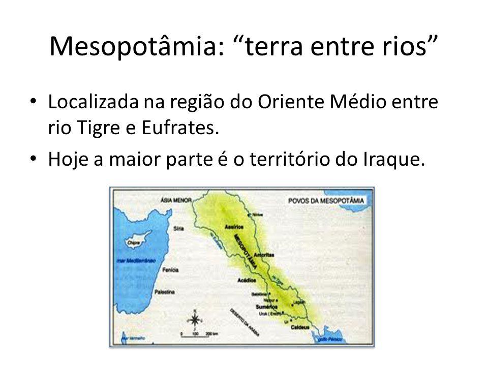 Mesopotâmia: terra entre rios