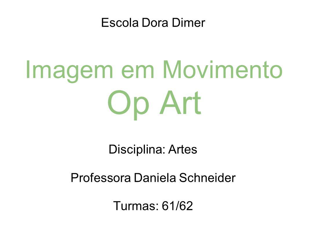 Imagem em Movimento Op Art