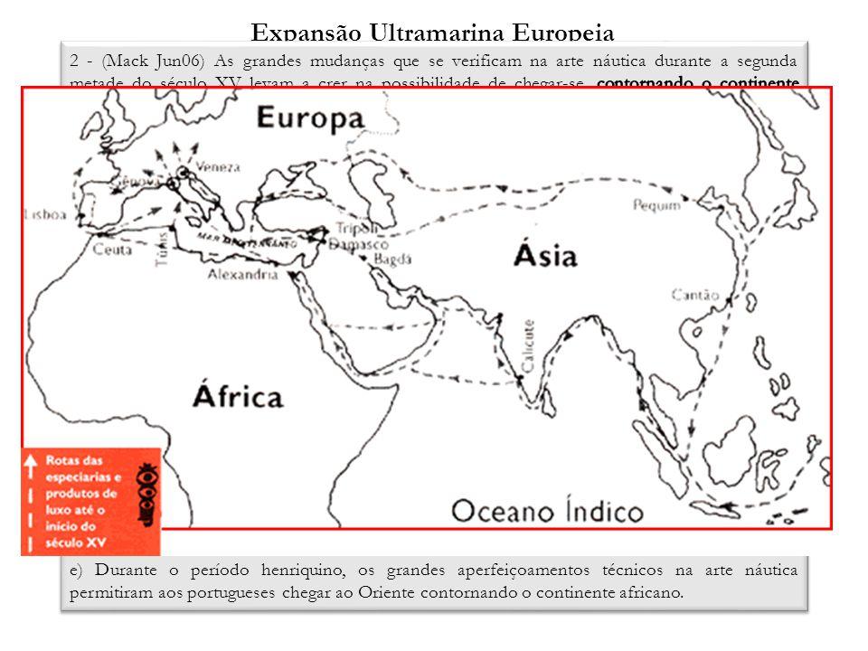 Expansão Ultramarina Europeia