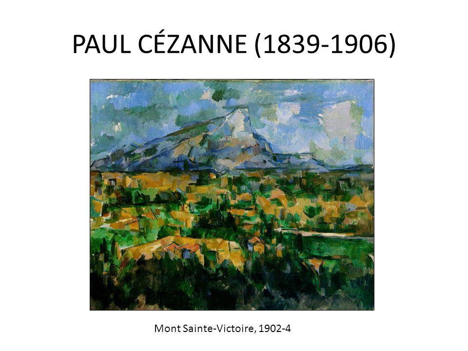 PAUL CÉZANNE (1839-1906) Mont Sainte-Victoire, 1902-4