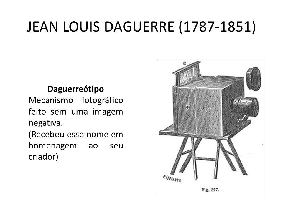 JEAN LOUIS DAGUERRE (1787-1851)