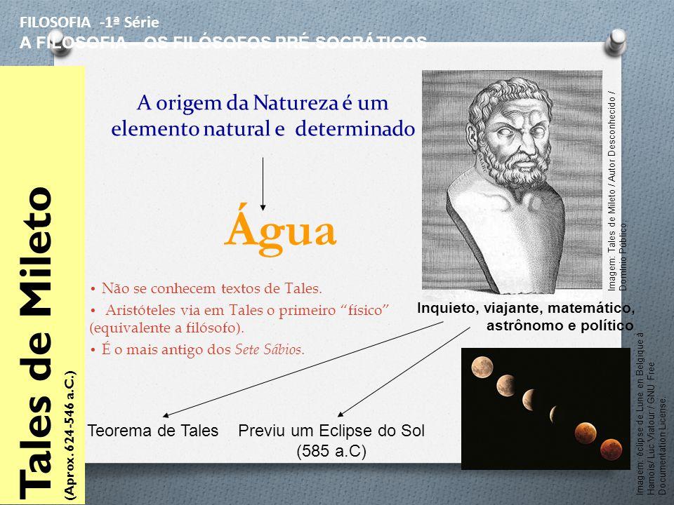 A origem da Natureza é um elemento natural e determinado