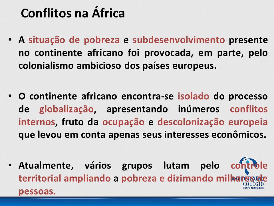 Conflitos na África