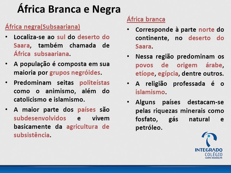 África Branca e Negra África branca