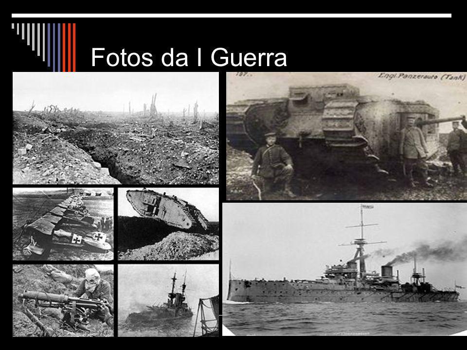 Fotos da I Guerra