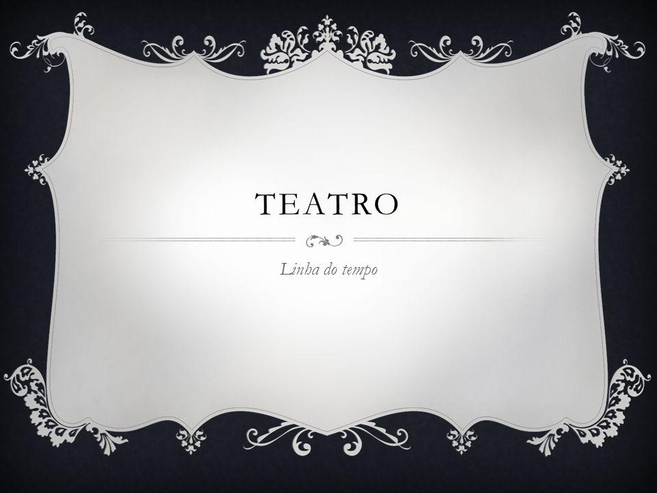 Teatro Linha do tempo