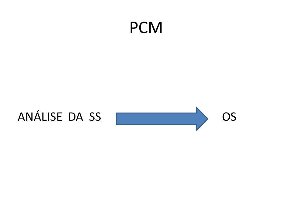 PCM ANÁLISE DA SS OS