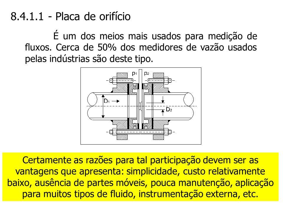 8.4.1.1 - Placa de orifício