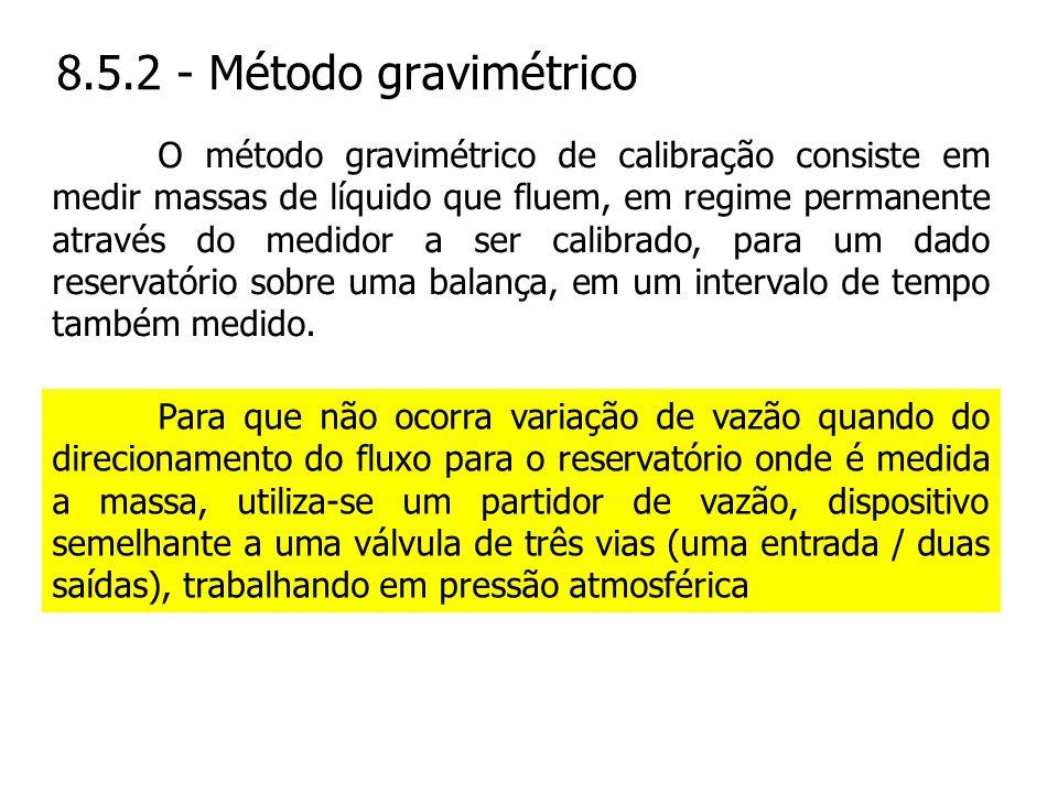 8.5.2 - Método gravimétrico