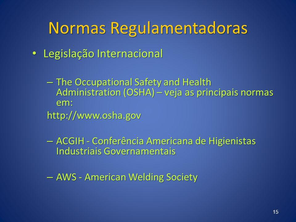 Normas Regulamentadoras