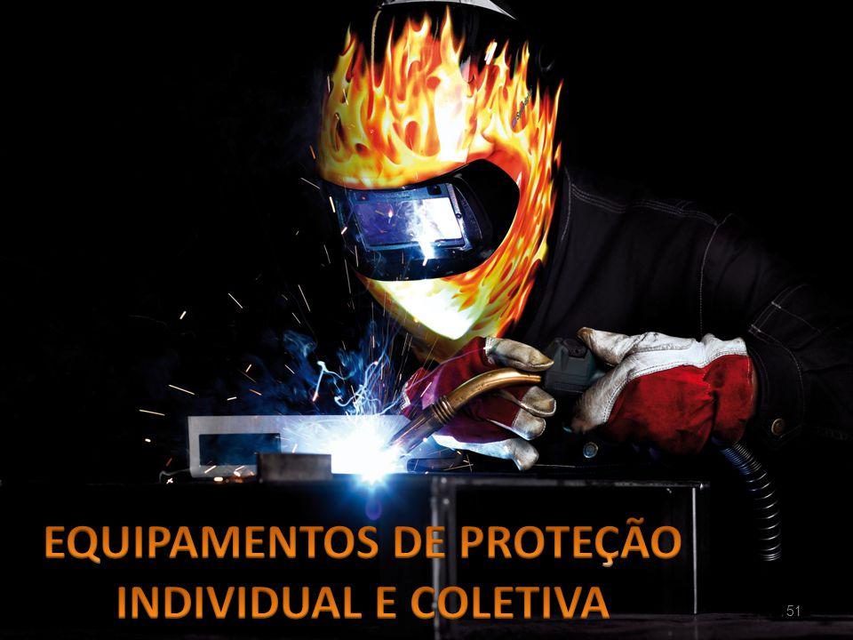 EQUIPAMENTOS DE PROTEÇÃO INDIVIDUAL E COLETIVA