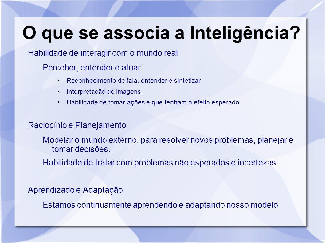 O que se associa a Inteligência