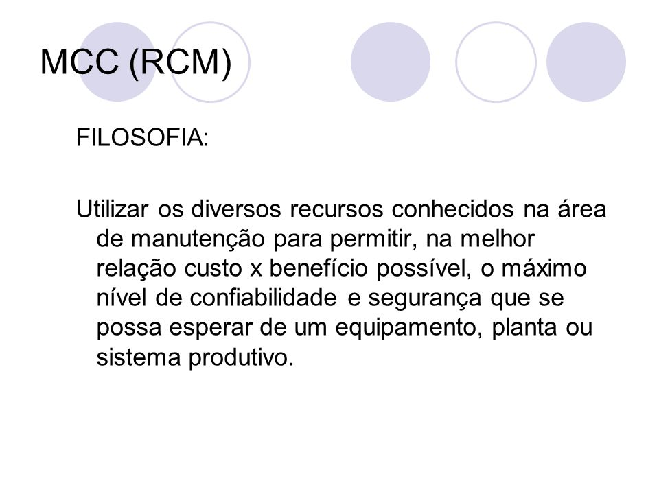 MCC (RCM)