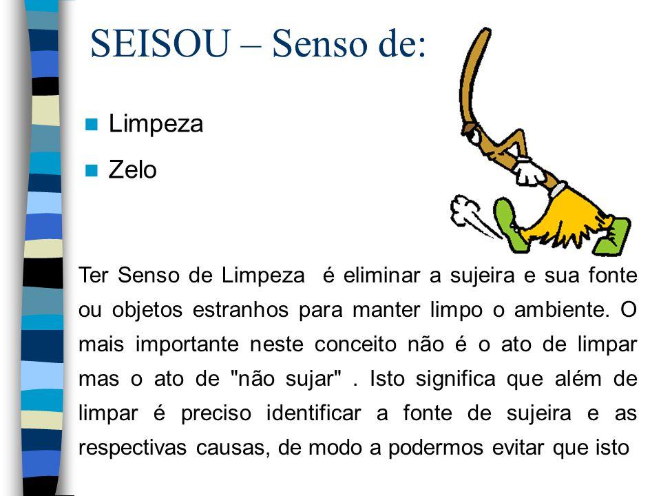 SEISOU – Senso de: Limpeza Zelo