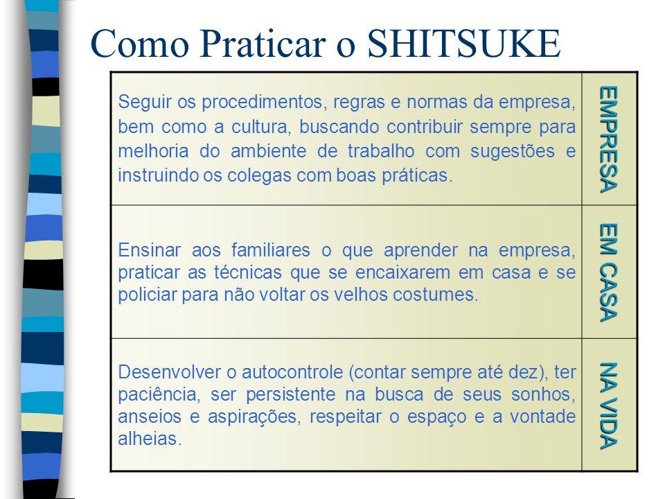 Como Praticar o SHITSUKE
