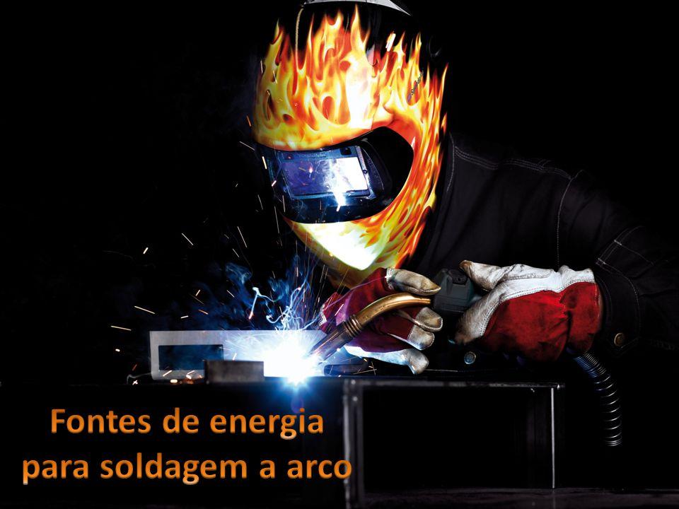 Fontes de energia para soldagem a arco