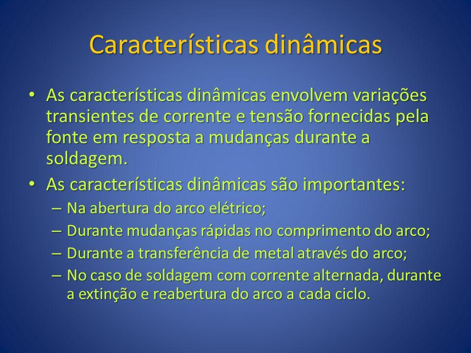 Características dinâmicas