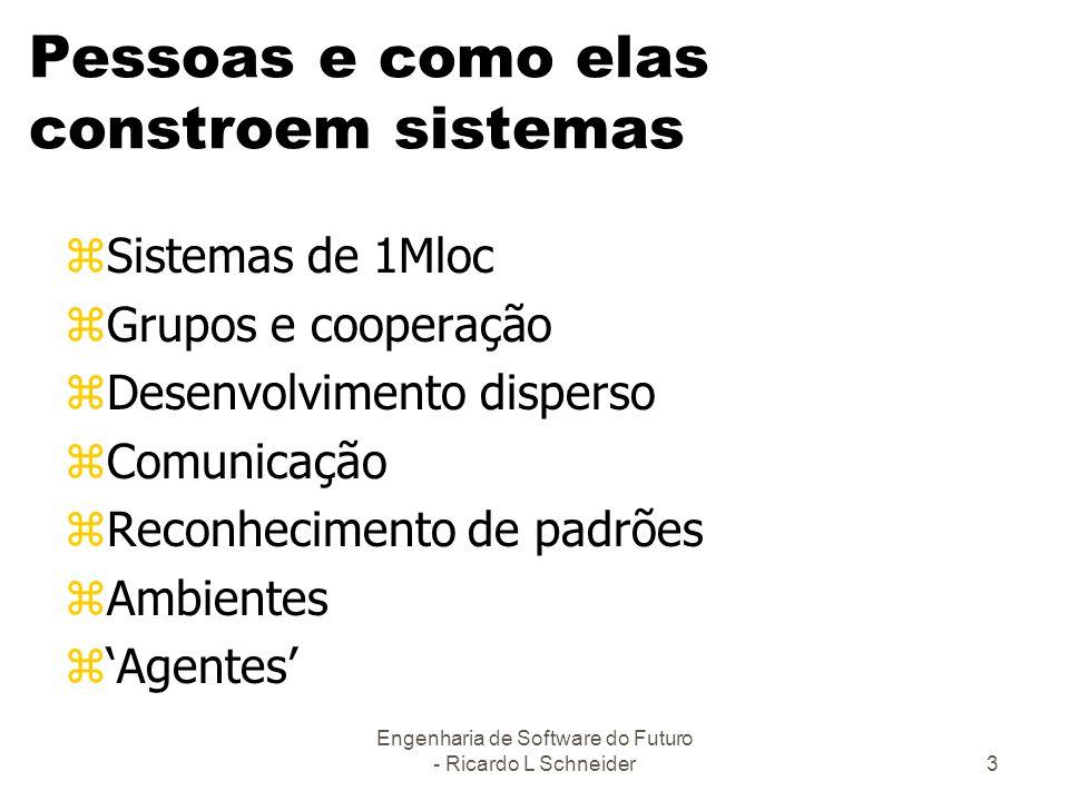 Pessoas e como elas constroem sistemas