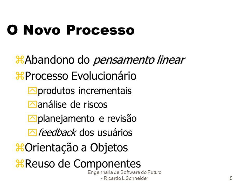 Engenharia de Software do Futuro - Ricardo L Schneider