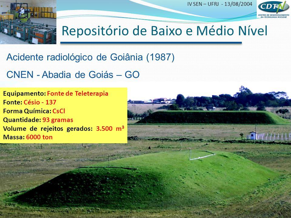 Repositório de Baixo e Médio Nível