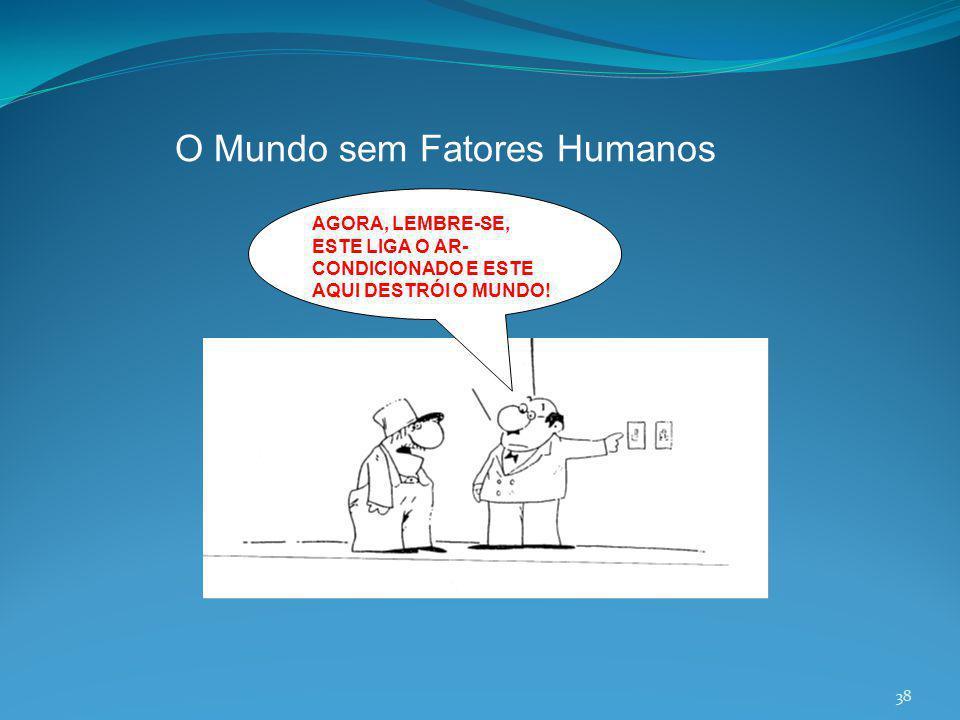 O Mundo sem Fatores Humanos