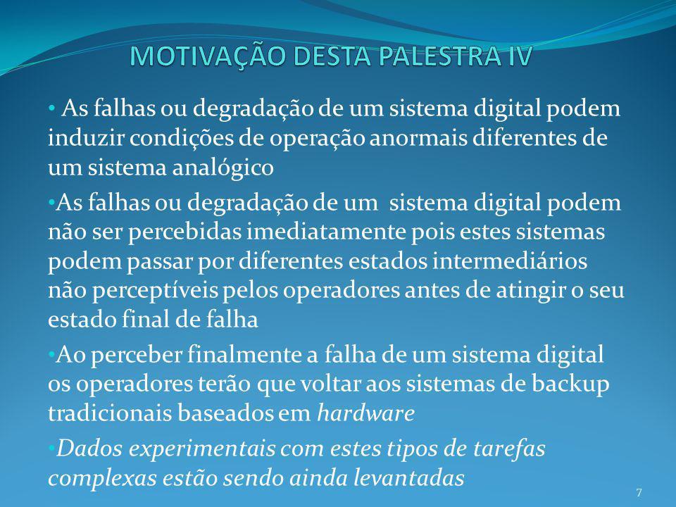 MOTIVAÇÃO DESTA PALESTRA IV