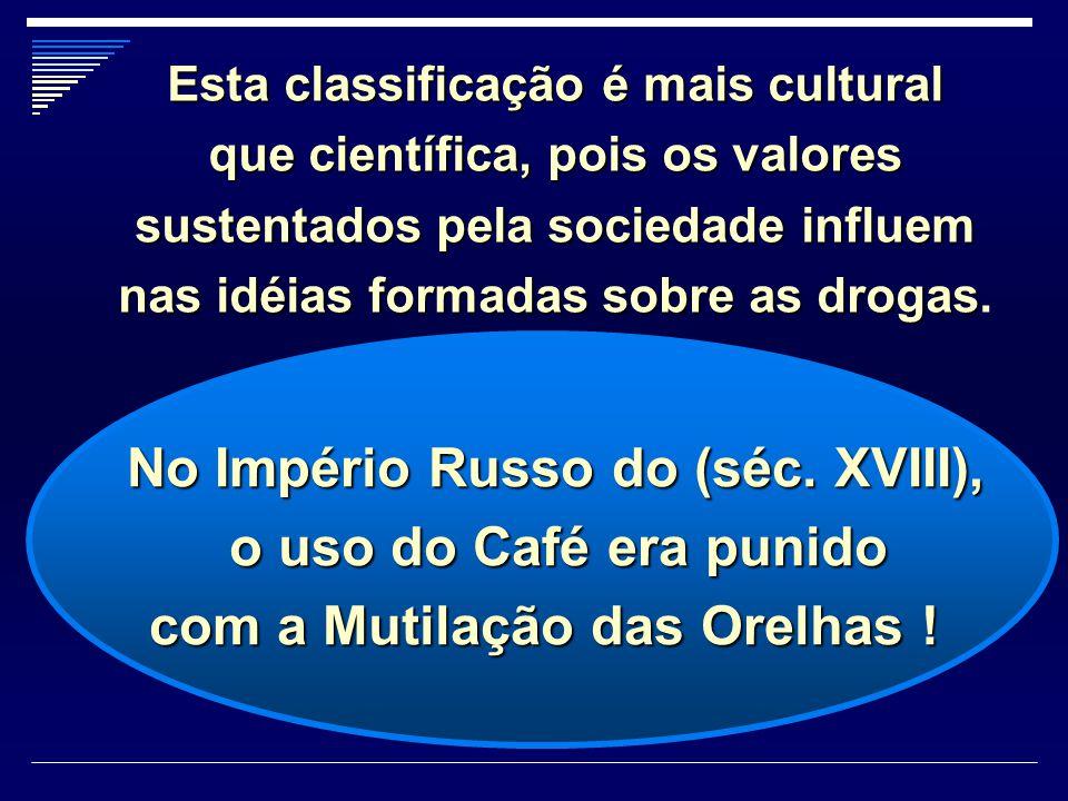 o uso do Café era punido com a Mutilação das Orelhas !