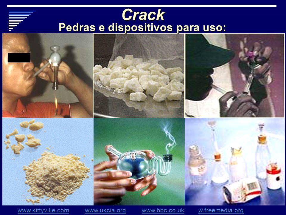 Pedras e dispositivos para uso: