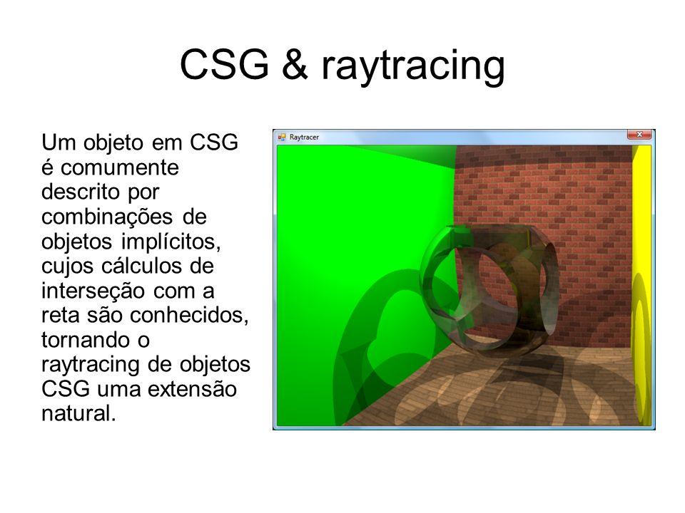 CSG & raytracing
