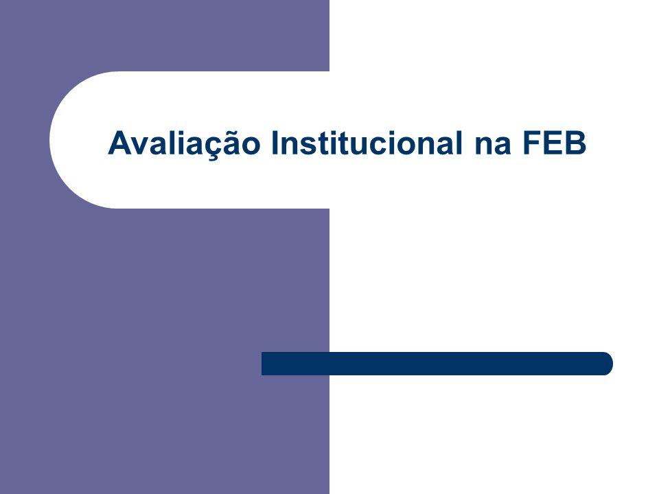 Avaliação Institucional na FEB