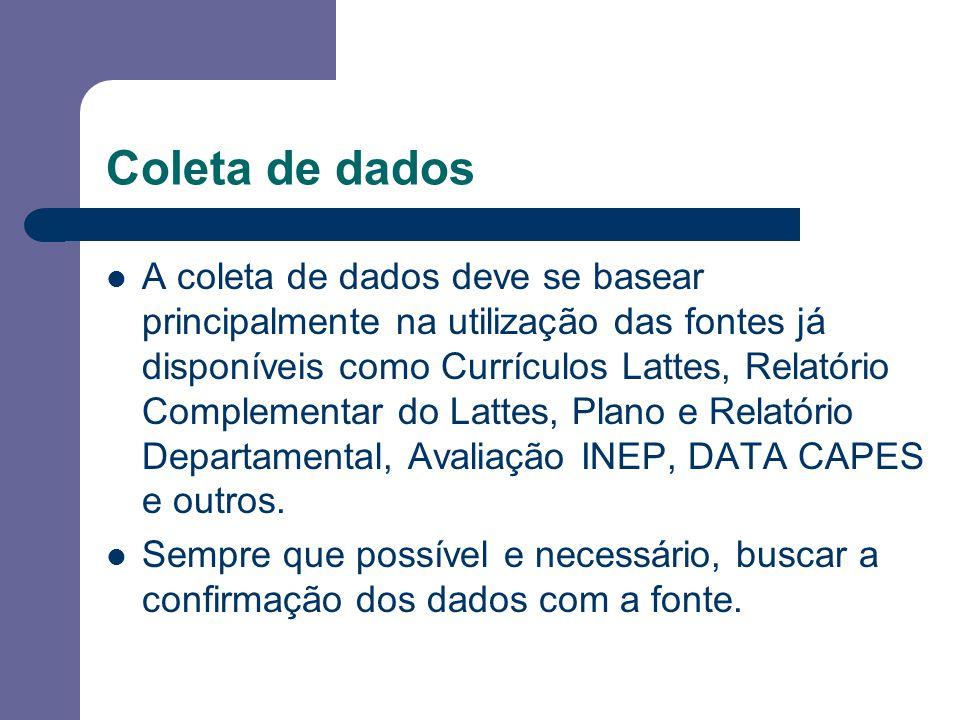 Coleta de dados