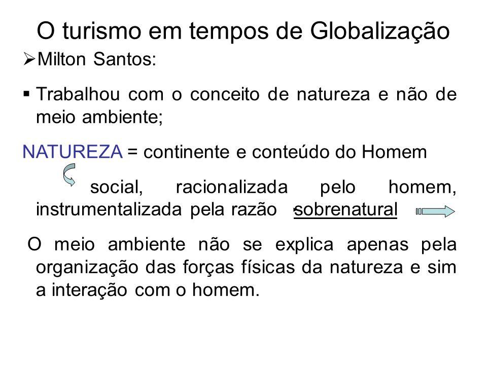 O turismo em tempos de Globalização