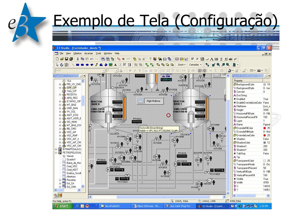 Exemplo de Tela (Configuração)