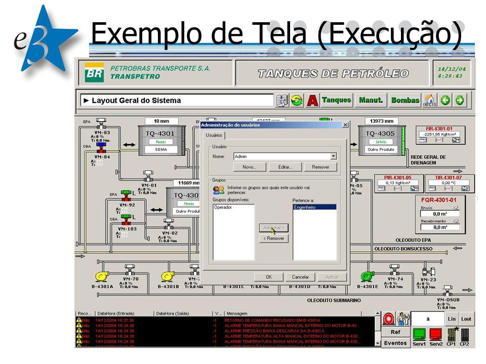 Exemplo de Tela (Execução)