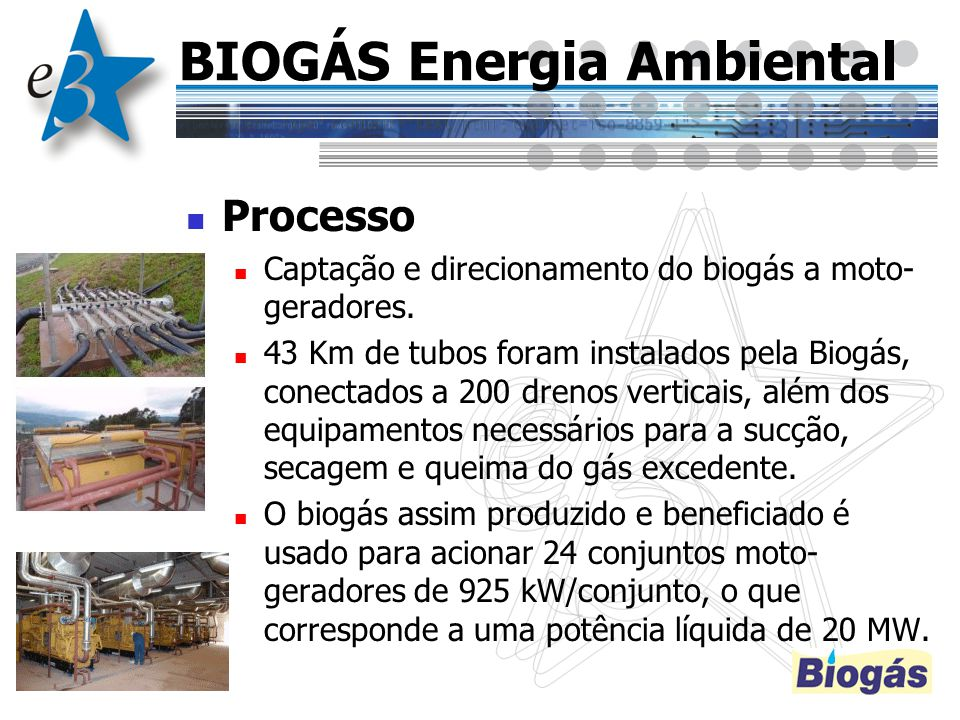 BIOGÁS Energia Ambiental