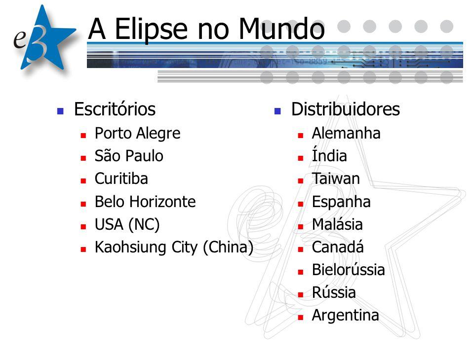 A Elipse no Mundo Escritórios Distribuidores Porto Alegre São Paulo