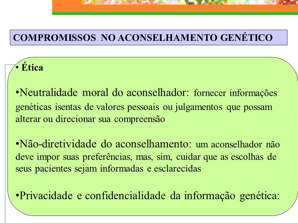 Privacidade e confidencialidade da informação genética: