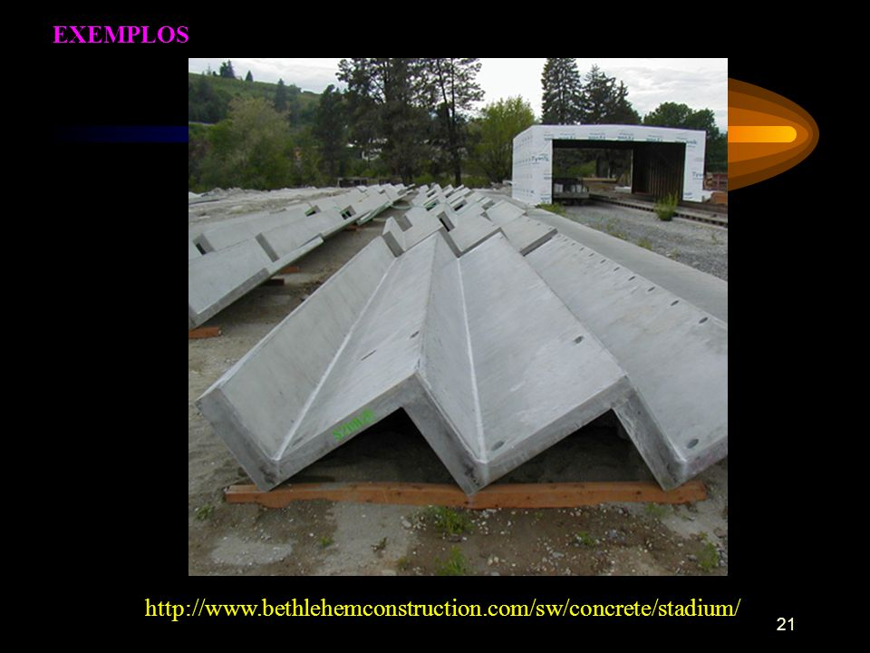 EXEMPLOS http://www.bethlehemconstruction.com/sw/concrete/stadium/
