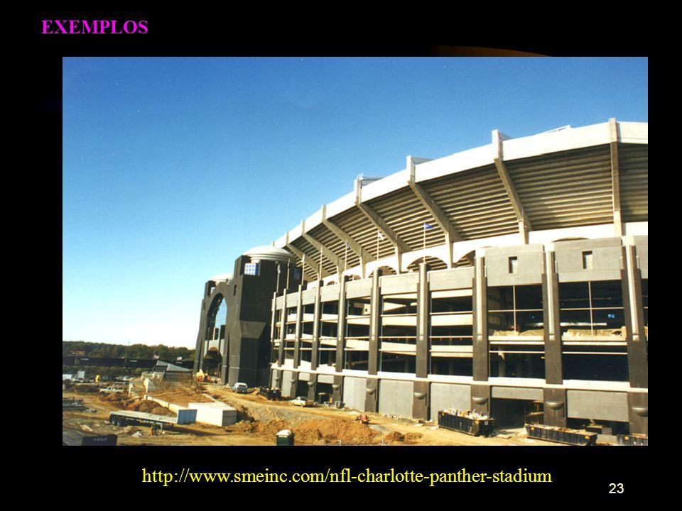 EXEMPLOS http://www.smeinc.com/nfl-charlotte-panther-stadium