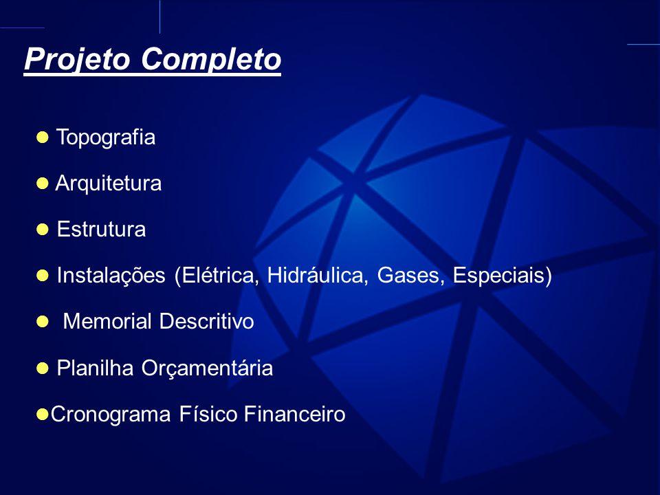Projeto Completo Topografia Arquitetura Estrutura