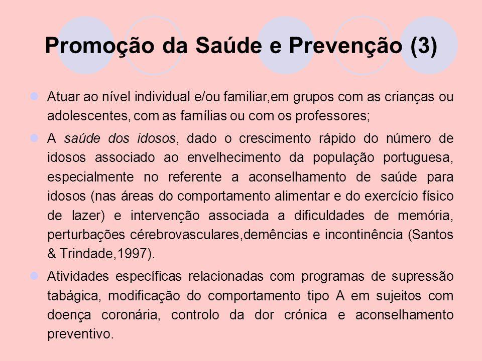 Promoção da Saúde e Prevenção (3)