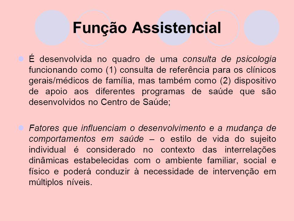 Função Assistencial